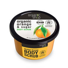 Organic Shop Body Scrub - Organic Orange & Sugar