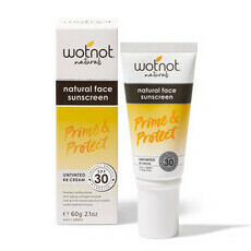 WOTNOT 30 SPF Natural Face Sunscreen & BB Cream
