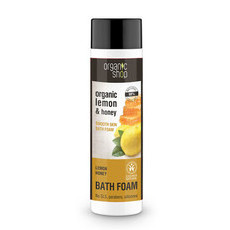Organic Shop Bath Foam - Organic Lemon & Honey