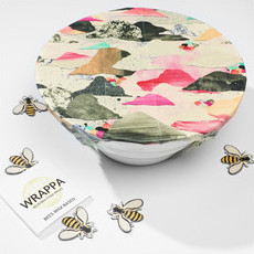 Wrappa Reusable BEESWAX Jumbo Food Wrap - Confetti Rainbow