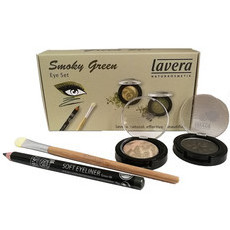 Lavera Limited Edition Smoky Green Eye Set