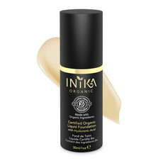 Inika Certified Organic Liquid Mineral Foundation - Cream