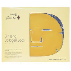100% Pure Ginseng Collagen Boost Mask