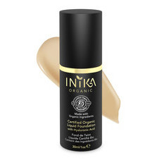Inika Certified Organic Liquid Mineral Foundation - Honey