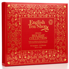 English Tea Shop - Organic Holiday Collection - Red Tray