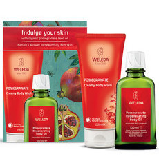 Weleda Indulge Your Skin Pomegranate Gift Pack