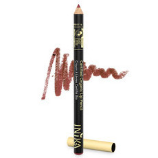 Inika Certified Organic Lip Pencil - Moroccan Rose