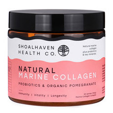 Shoalhaven Health Co. Natural Marine Collagen - Pomegranate