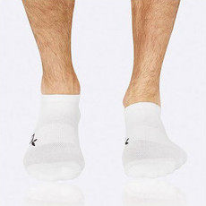 Boody Men's Active Sports Socks - White