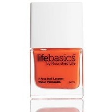 Life Basics Breathable Nail Polish - Tangerdream