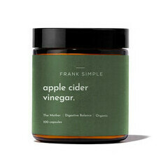 Frank Simple Apple Cider Vinegar Capsules