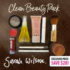 "Sarah Wilson's Exclusive ""Clean Beauty Pack"""