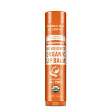 Dr Bronner's Organic Lip Balm - Orange Ginger