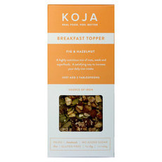 KOJA Fig & Hazelnut Breakfast Topper