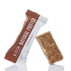KOJA Natural Peanut Butter Bars - Peanut Caramel