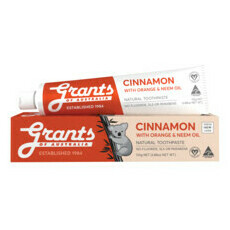 Grants Orange Cinnamon with Neem Oil Toothpaste