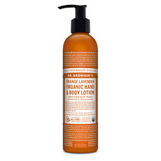Dr Bronner's Organic Hand & Body Lotion - Orange Lavender