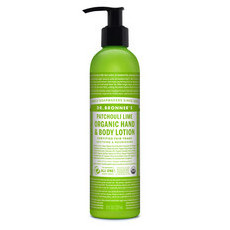Dr Bronner's Organic Hand & Body Lotion - Patchouli Lime