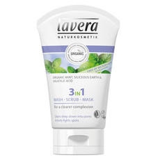 Lavera 3-in-1 Wash, Scrub & Mask