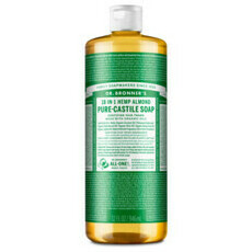 Dr Bronner's Pure-Castile Liquid Soap - Almond