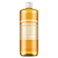 Dr Bronner's Pure-Castile Liquid Soap - Citrus Orange