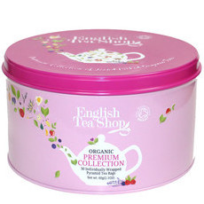 English Tea Shop - Mother's Day Organic Round Gift Tin - Floral