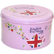 English Tea Shop - Mother's Day Organic Round Gift Tin - Union Jack