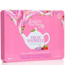 English Tea Shop - Treat Yourself Organic Premium Collection Tin