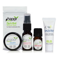 Happy Skin Super-Sized Sample Pack - Oily & Combination Skin