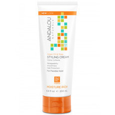 Andalou Naturals Argan Oil & Shea Moisture Rich Styling Cream