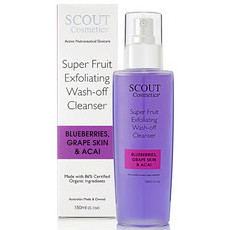 SCOUT Cosmetics Super Fruit Exfoliating Wash-Off Cleanser