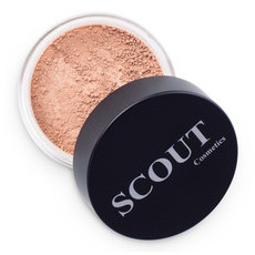 SCOUT Cosmetics Mineral Powder Foundation - Sunset