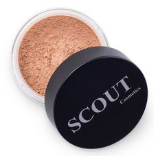 SCOUT Cosmetics Mineral Powder Foundation - Golden