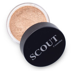 SCOUT Cosmetics Mineral Powder Foundation - Almond
