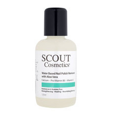 SCOUT Cosmetics Water Based Nail Polish Remover