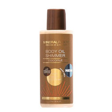 Mineral Fusion Body Oil Shimmer - Gold