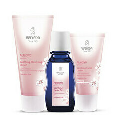 Weleda Almond Soothing Set for Sensitive/Combination & Dry Skin