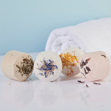 Life Basics Bath Bombs - 4 Pack