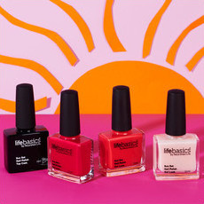Life Basics Sun Set Gel 4 Pack - Brights