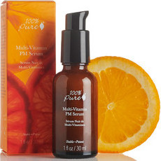 100% Pure Multi-Vitamin + Antioxidants Potent PM Serum