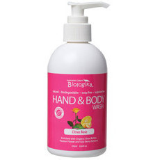 Biologika Citrus Rose Hand & Body Wash