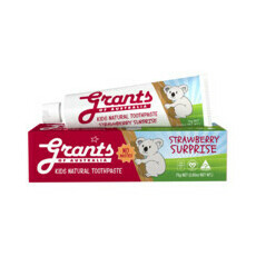 Grants Kids Natural Toothpaste - Strawberry Surprise