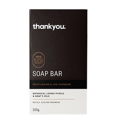 Thankyou Soap Bar - Goat's Milk & Lemon Myrtle