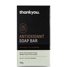 Thankyou Antioxidant Soap Bar - with Green Tea & Tea Leaves