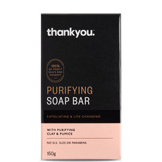 Thankyou Purifying Soap Bar - With Clay & Pumice