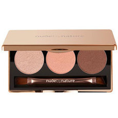 Nude By Nature Natural Illusion Eyeshadow Trio - 03 Rose