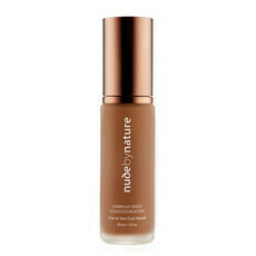 Nude By Nature Liquid Mineral Foundation - Dark