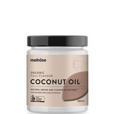 Melrose Organic Full Flavour Coconut Oil