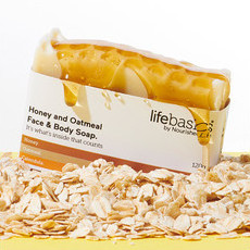 Life Basics Soap - Honey & Oatmeal