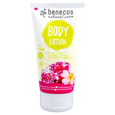 Benecos Natural Body Lotion - Pomegranate & Rose